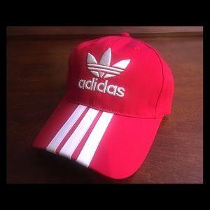 Adidas Red Trac Strapback Cap